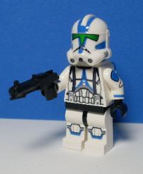 Battlefront Jet Trooper (green Visor)